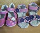 Босоножки и туфли новые