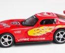 Kinsmart Dodge Viper пламенный