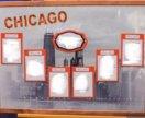 Рассадка гостей в стиле Чикаго