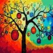 Алмазная мозайка.Дерево богатства