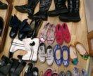 Обувь на девочку на разные сезоны34-35р