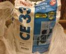 Затирка СЕ 33 для узких швов до 5 мм белая 2 кг