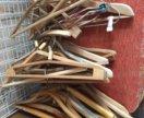 вешалки деревяшшые