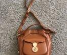 Стильная коричневая сумка