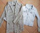 Кардиган,джинсовые куртка