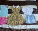 Пакет вещей на девочку, размер 104