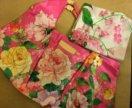 Пляжная сумка и палантин