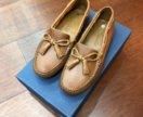 Новые туфли мокасины