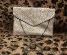 Новая сумка клатч конверт перфорированная эко кожа