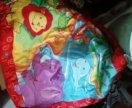 Мешок с игрушками, включая коврик tiny love.