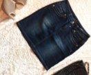 Юбка джинсовая женская б/у размер 42-44