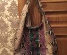 Шикарнейшая кожаная сумка Gucci оригинал