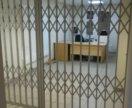Раздвижные железные решетки (двери)