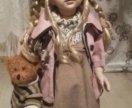 Фарфоровая кукла 66см новая
