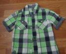 Рубашка фирменная на мальчика