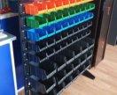 Стеллаж-стойкадля комплектующих( болтов и метизов)