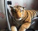 Игрушка тигр большая мягкая
