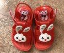 Детские сандали резиновые