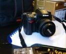 Nikon D7000 body + объектив