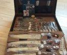 Набор ножей .25 предметов +чемодан