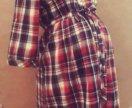 Рубашки для беременных и кормящих мам новые