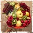 Букеты к выпускному, фруктовые букеты