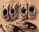 Волейбольные кроссовки asics и mizuno