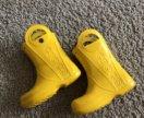 Желтые сапожки