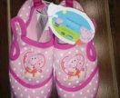 Новые летние ботиночки mothercare.стелька 16см