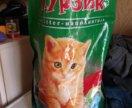 Наполнитель для кошек опилки гранулами