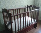 Детская кроватка + матрас. 👍