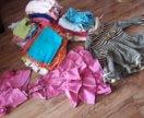Вещи пакетом девочке 1-3 года