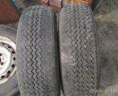 Шины на дисках,состояние как на фото