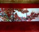"""Картина на холсте """"Сакура"""""""