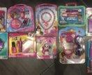 Игрушки: принцесса Дисней, Барби и Плюшева