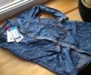 Платье джинсовое новое 104