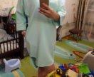 Летнее платье-туника 46р.