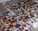 Большая коллекция значков