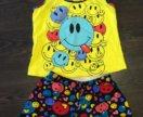 Комплект шорты майка