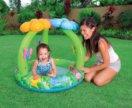 Новый надувной детский бассейн