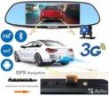 Видеорегистратор Зеркало Android 4.4, 3G, GPS