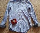 Рубашка Zara+часы в подарок