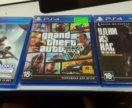 3 игры на PS4