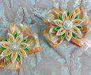 Бантики на резиночках ручной работы