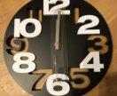 Стильные настенные часы (новые в коробке)