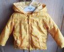 Куртка на девочку весна осень 86 р как новая
