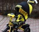 новые. Трехколесный велосипед Супер формула желтый