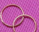 Обручальные кольца, золото 585 проба