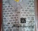 Рубашка мужская новая, 100% хлопок (цвет N2)