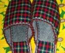 Домашняя обувь, тапки, шлёпанцы. Новые.